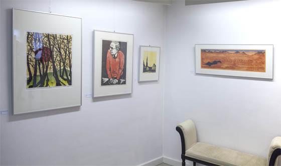 Bis 4. September 2016 präsentiert das Marburger Haus der Romantik die Jacob Pins Ausstellung. Sternbald-Foto Hartwig Bambey.